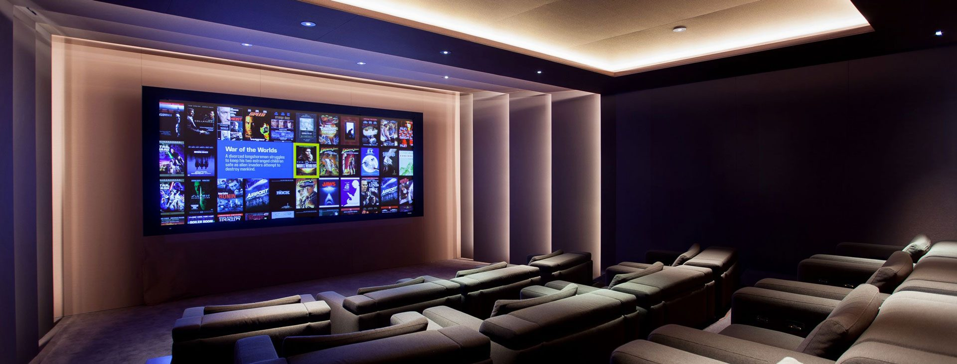 home cinema installation  london visionworks kensington